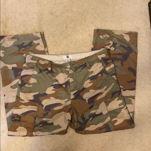 Cargo Pants with GapFlex  camouflage
